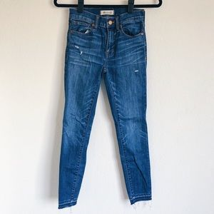 Madewell 9'' High Riser Skinny Skinny Jean